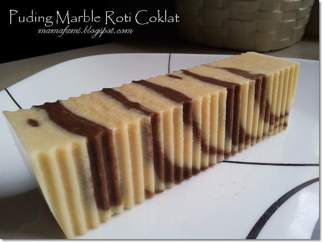 Chocolate Marbled Bread Pudding http://mamafami.blogspot.com/2013/05 ...