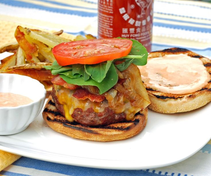Ultimate Sriracha Burger | Foodie Girl Sandwiches, Burgers,Hot Dogs ...
