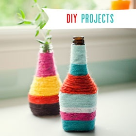 Yarn vases