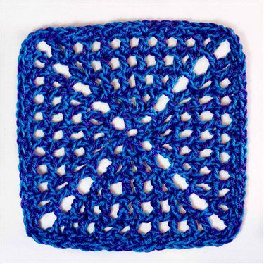 Granny Square - Media - Crochet Me