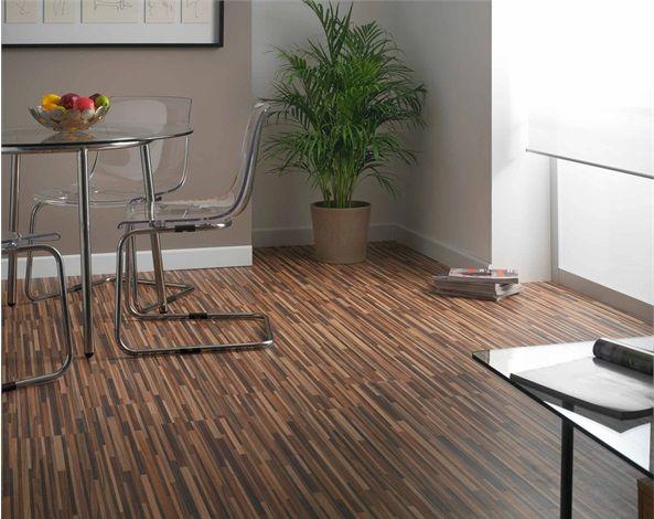 Zebrano laminate flooring | New House | Pinterest