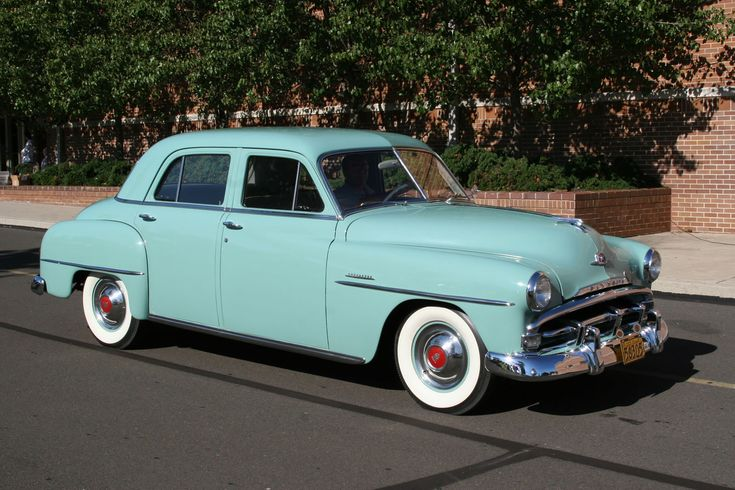 1951 plymouth classic vintage automobiles pinterest for 1951 plymouth 2 door