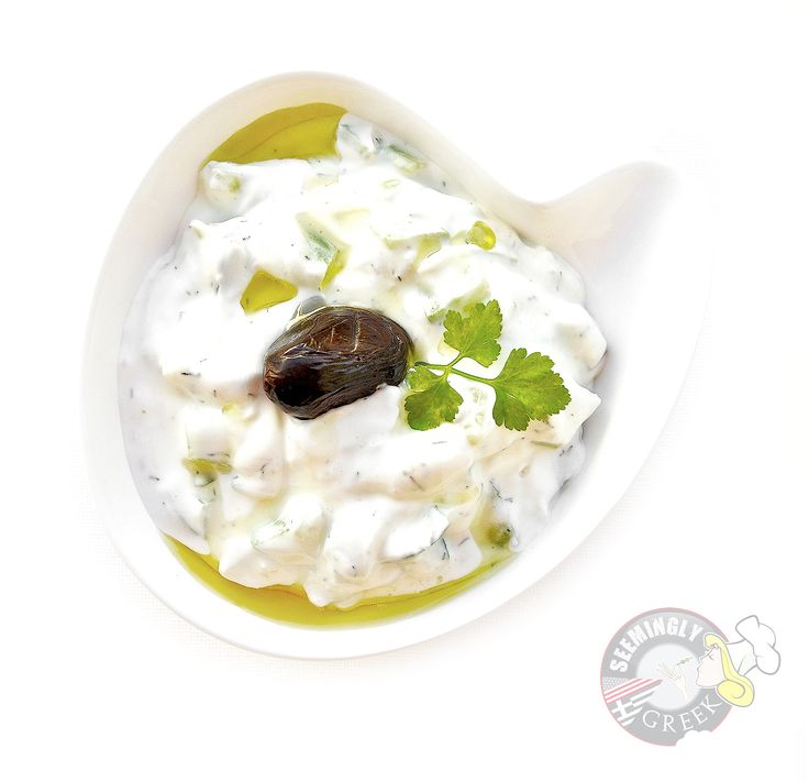 Tzatziki Sauce (Yogurt And Cucumber Dip) Recipe — Dishmaps