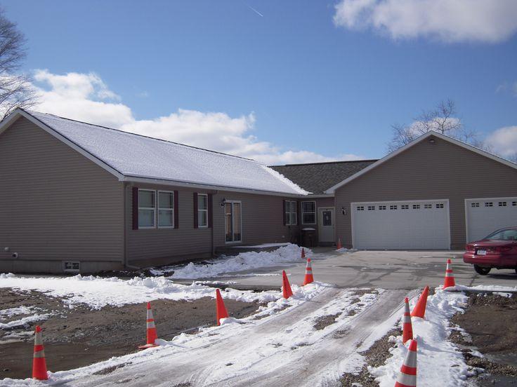 Pin by mark thomas on prefab homes modular homes we built for Modular 3 car garage