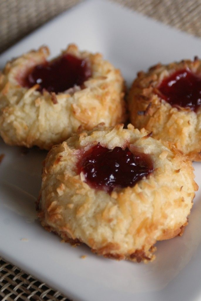 thumbprint cookies | Yummy! | Pinterest
