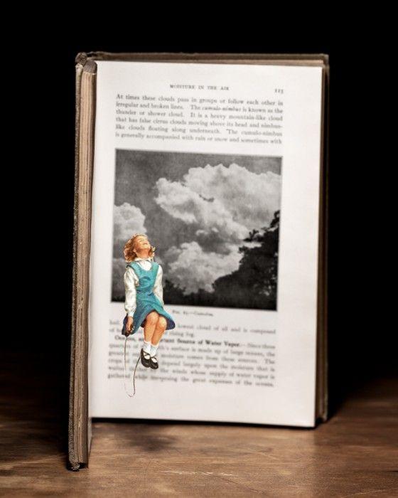 Thomas Allen - Book Cuts - Opere realizzate con illustrazioni di libri ...