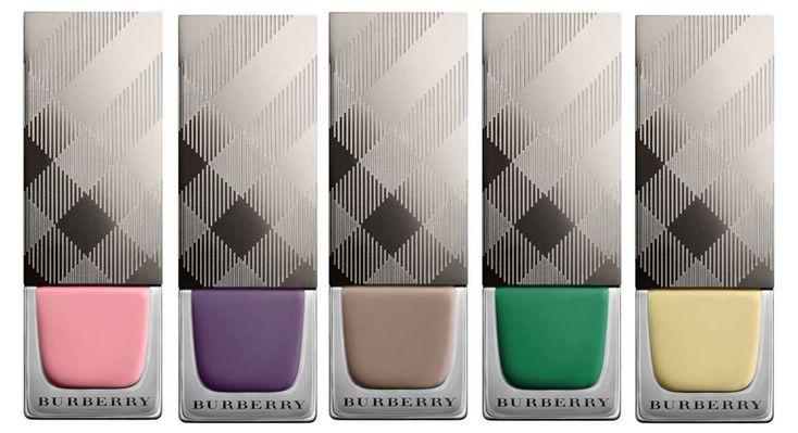 Burberry English Rose Makeup Collection for Spring 2014 nail polish