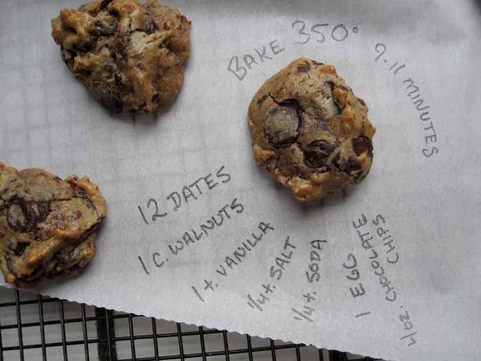 walnut date chocolate chip cookies   paleo and faileo sweets   Pinter ...