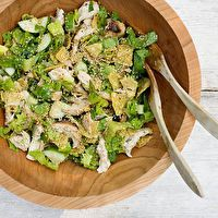 lime noodles southwest chicken salad with avocado lime dressing sesame ...