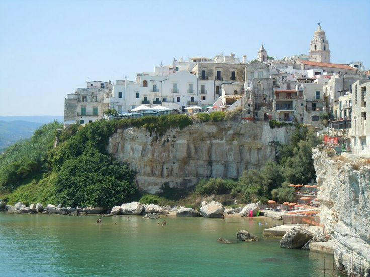 Italy, Puglia, Vieste Italy, Puglia, Gargano Pinterest