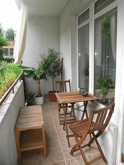 Repurposed IKEA on the balcony by tina_6500, via Flickr