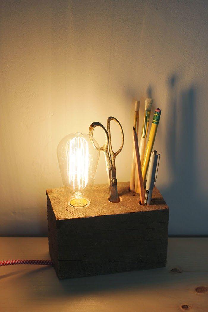 Unique 5 DIY Reading Lamps With Minimal Designs