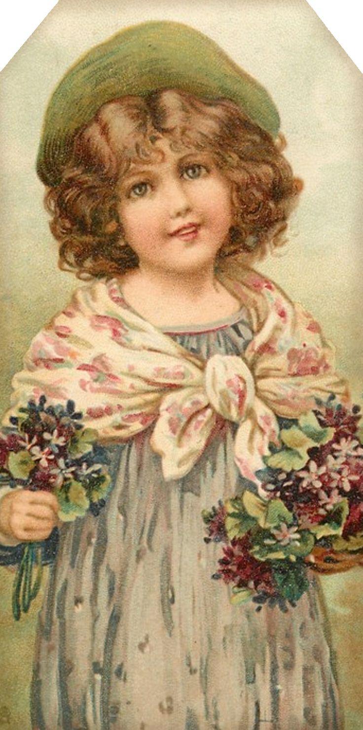 1907 flower maidens