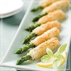 Asparagus Asiago Spears | Garden Party | Pinterest