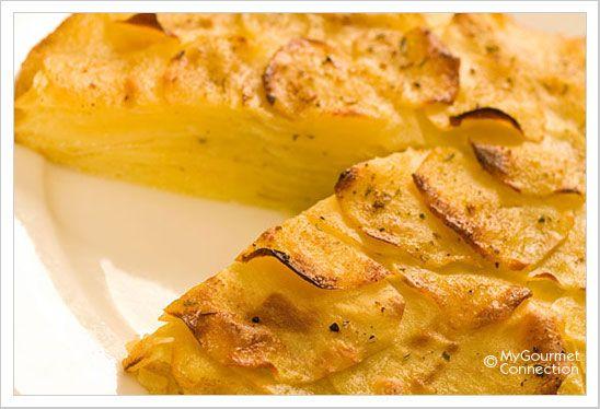 Super Simple Oven-Roasted Potato Galette: A simple oven roasted potato ...
