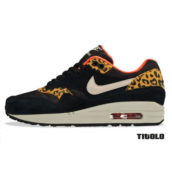 NIKE WMNS AIR MAX 1 (LEOPARD PACK) liked on Polyvore