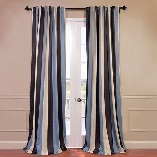 Portside Blackout Curtain, 50 x 120 Half Price Drapes,http://www ...