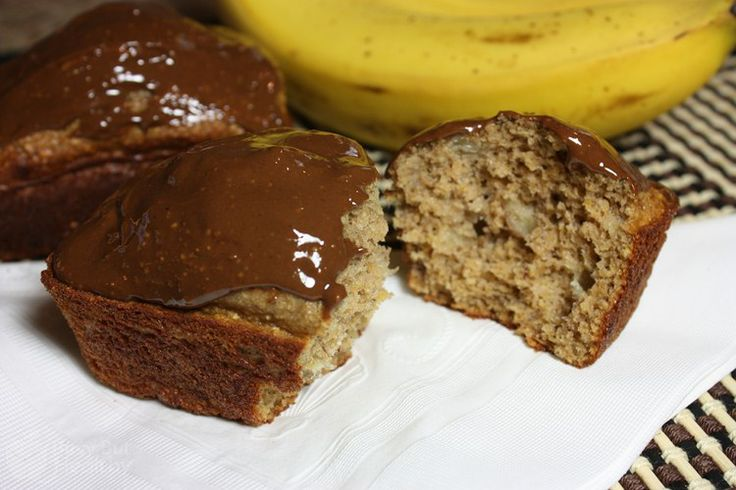 Peanut Butter Banana Bread w/ Chocolate Peanut Butter Frosting