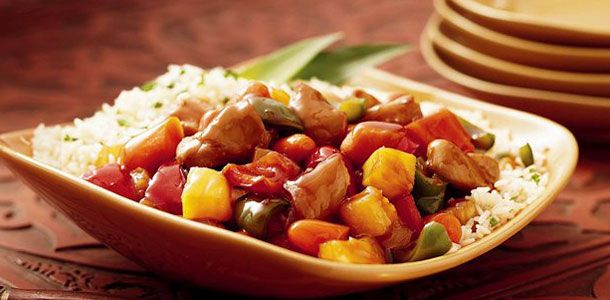 Crock Pot Sweet and Sour Chicken - use honey, omit rice (or use ...
