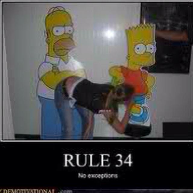rule 34 simpsons
