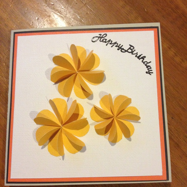 Flowers made of hearts card ideas pinterest