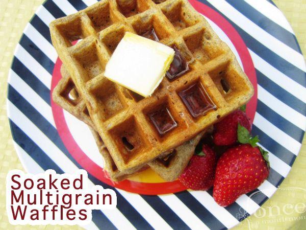 ... Kashi Soaked Multigrain Waffles - Breakfast #kashi #waffles #freezer