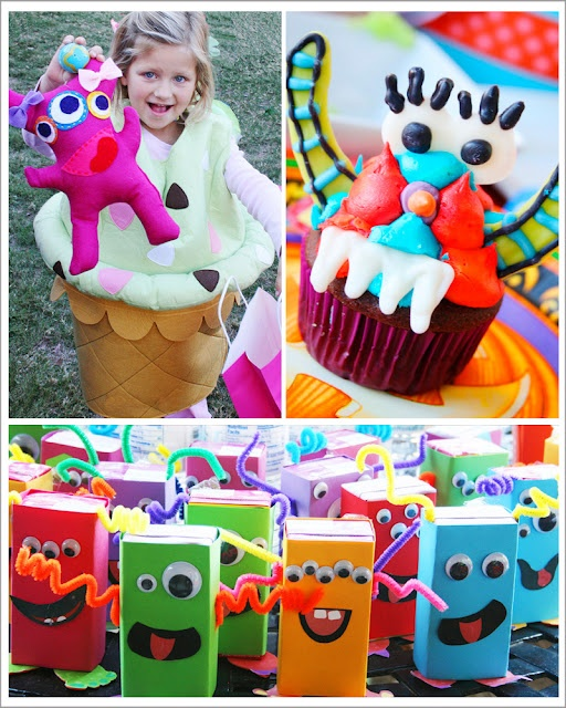 Monster juice boxes. | Westley's Birthday | Pinterest