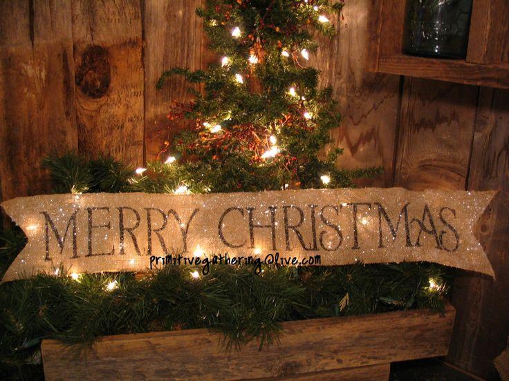 Christmas Mantel Scarf