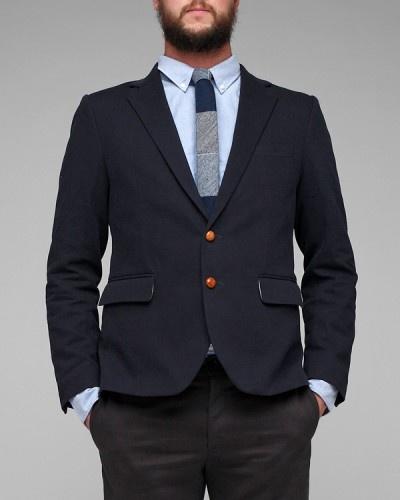 corduroy blazer w/ leather / need supply co.