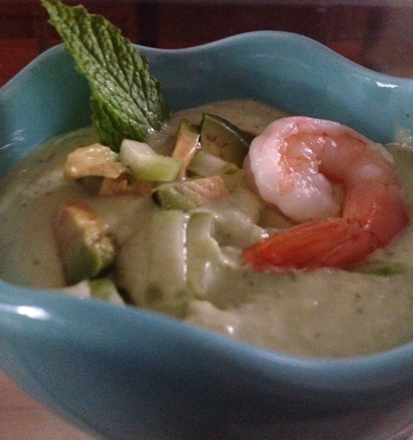 Cucumber Avocado Soup | Soups, Sides & Snacks | Pinterest