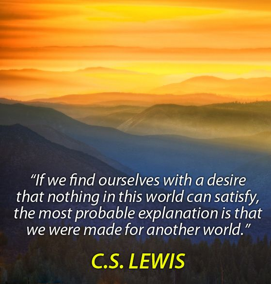 quotes about heaven cs lewis quotesgram