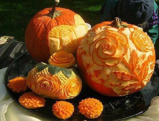 Pumpkin carving food art pinterest