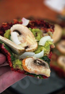 Beet Crust Pizza   gastronomical   Pinterest