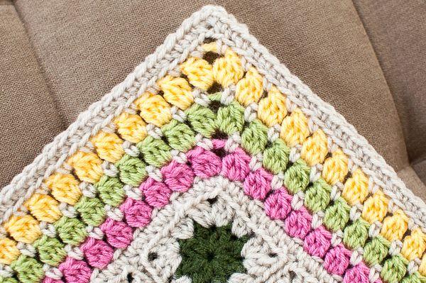 Crochet Borders : Crochet Edging Pattern #crochet #afghan #border #edging