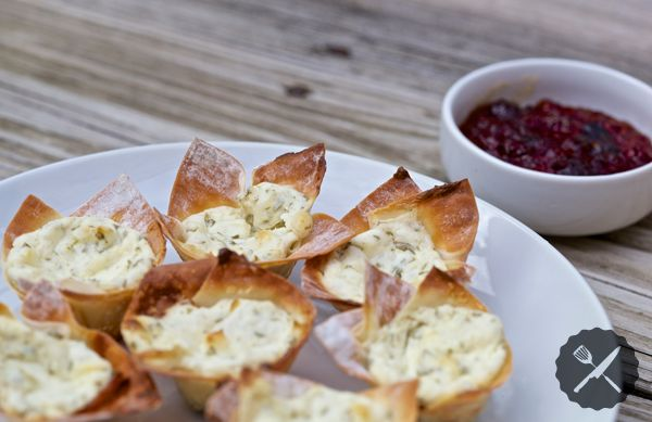 Baked Jalapeño Popper Wontons-bout to try these now but without the ...
