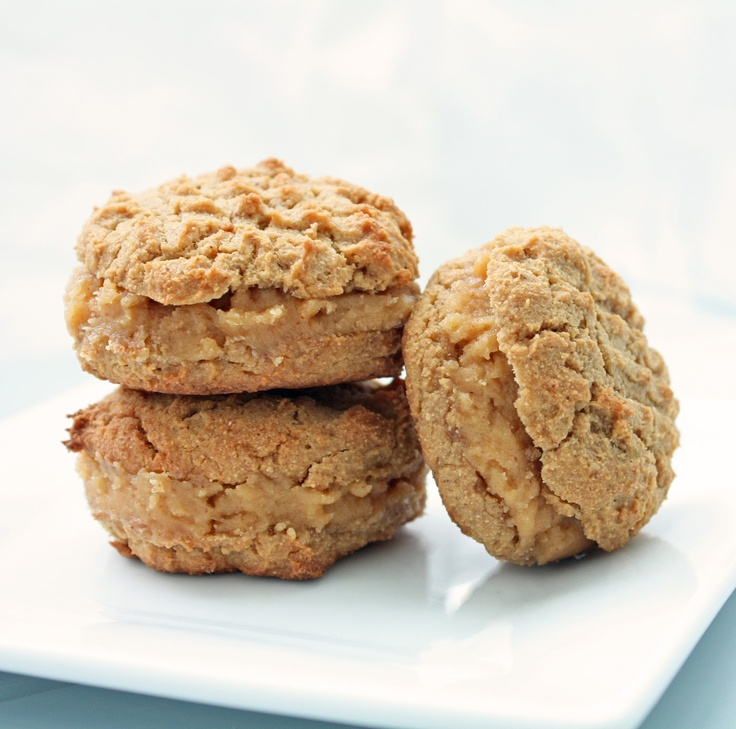 Breathe... I'm Hungry...: Low Carb Peanut Butter Sandwich Cookies