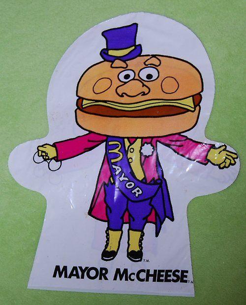 McDonalds plastic puppets!