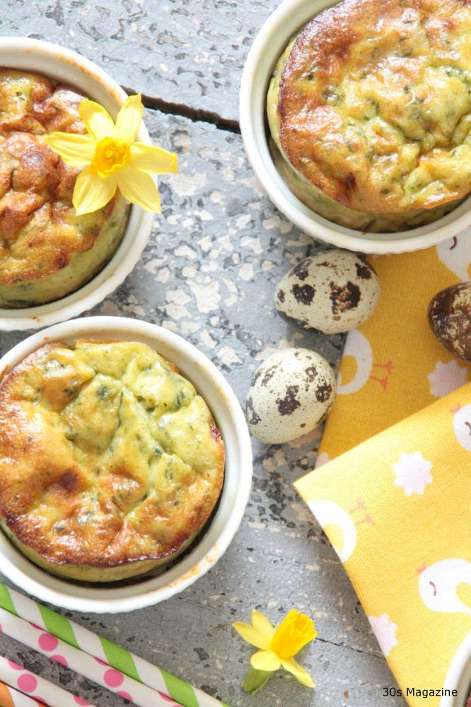 Easter Brunch recipe: Pesto Soufflé | yum. | Pinterest