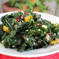 Holiday Kale Salad | Kale | Pinterest
