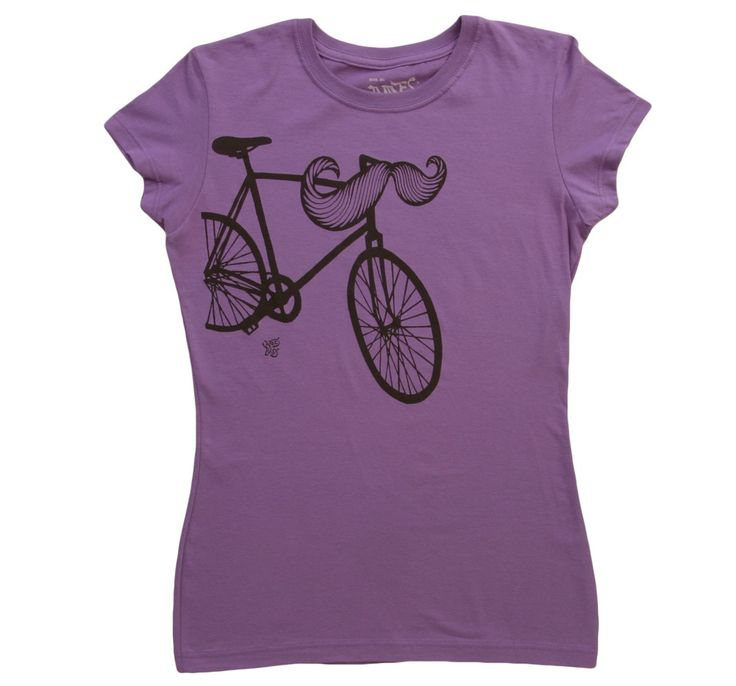 Womens handlebar t shirt random t shirts pinterest for Random t shirt generator