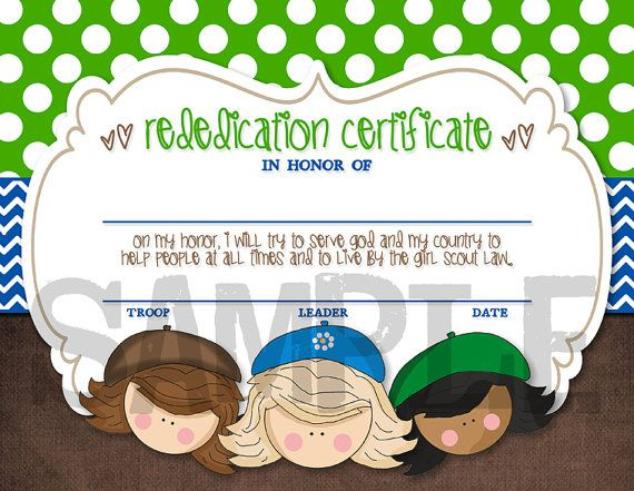 Check this out about Girl Scout Rededication Ceremony