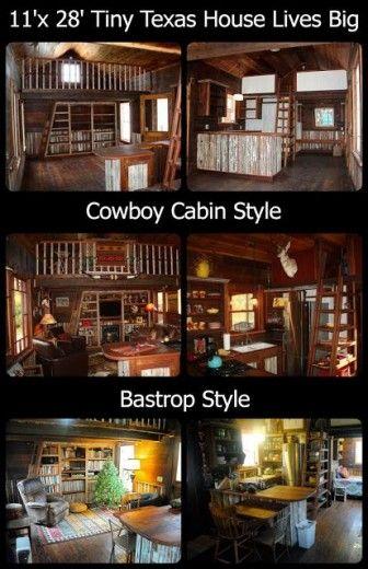 Tiny Texas House Interior Tiny house Pinterest