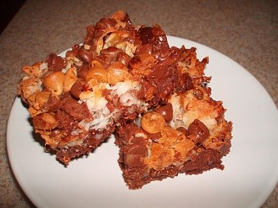 Ghirardelli Seven-Layer Brownie Bars | Oh My Sweet Tooth! | Pinterest