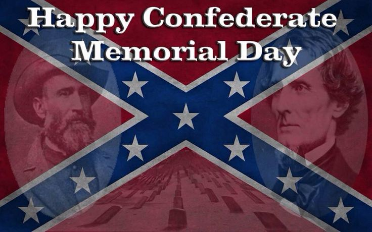 memorial day confederate flag