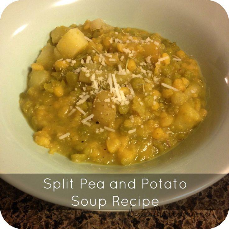 Vegan Split Pea and Potato Soup Recipe - Logical Harmony