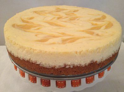 Creamsicle Cheesecake | Cream Cheese Desserts | Pinterest
