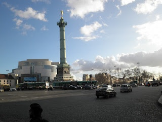 the bastille monument