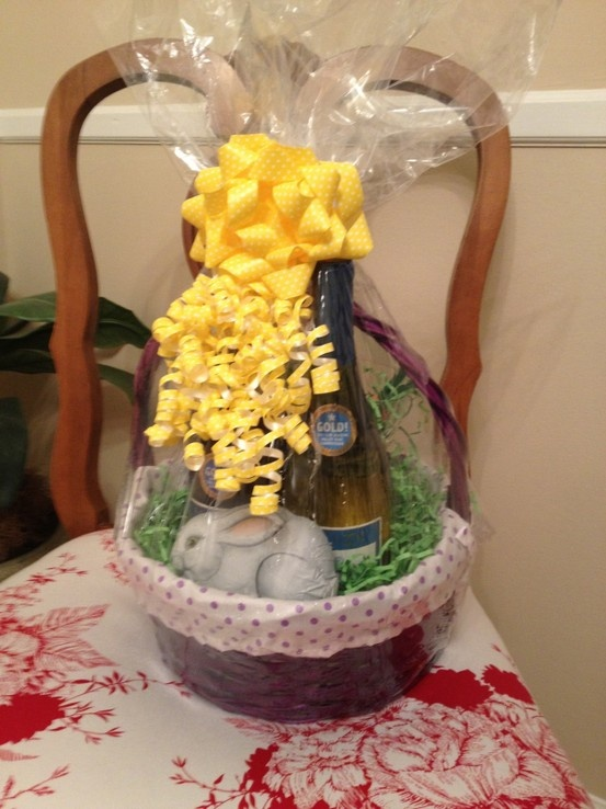 Easter Basket For Adults Holiday Pinterest
