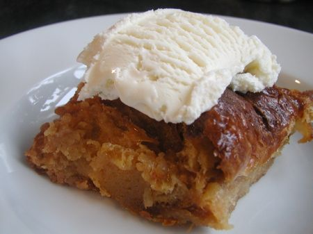 caramel croissant pudding...i have stale croissants on the counter and ...