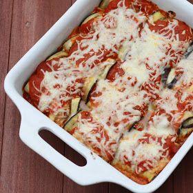 The Sweets Life: Eggplant Parmesan Rollatini